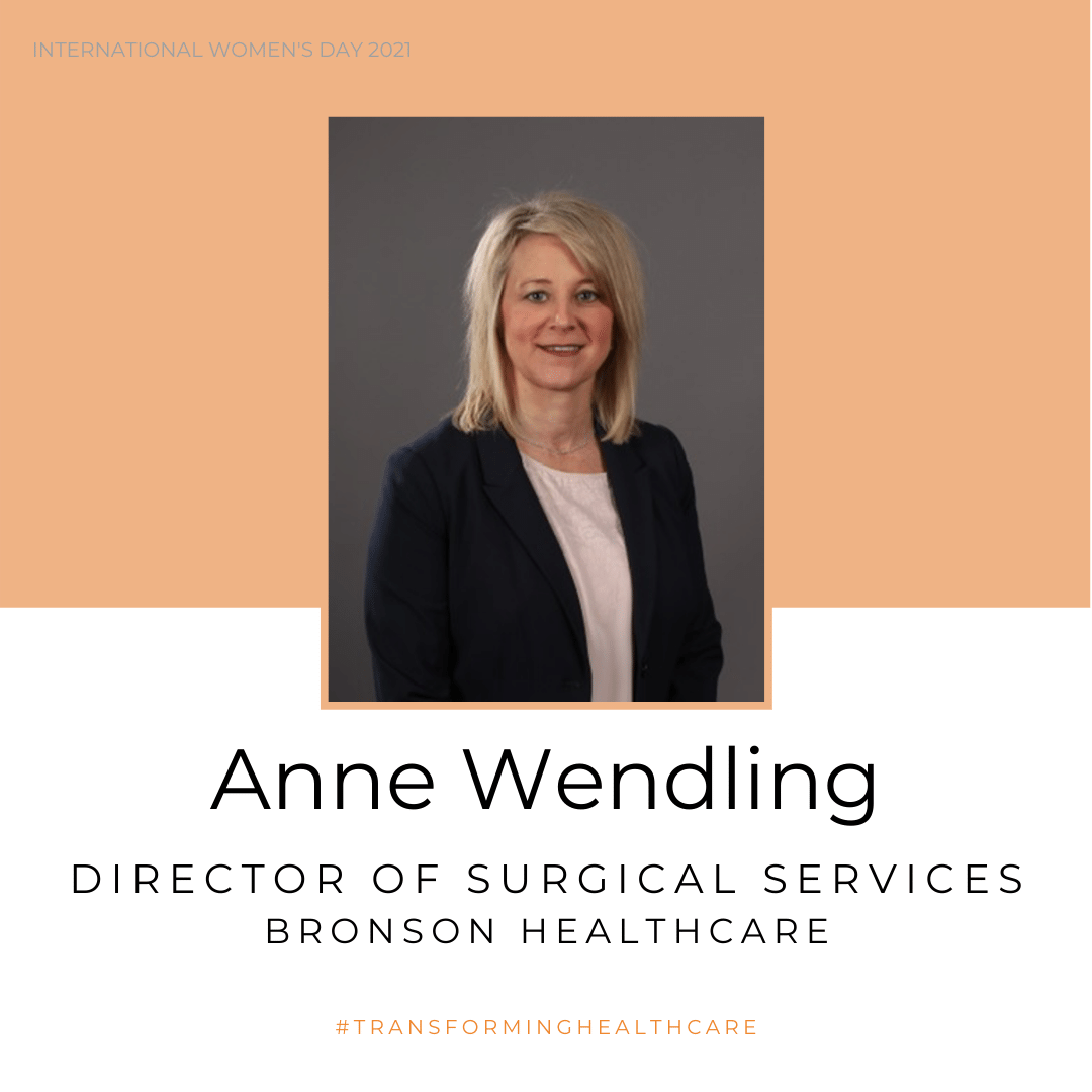 Photo of Anne Wendling, Director of Surgical Services at Bronson HealthCare